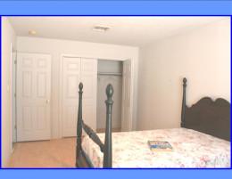 Perigo floors and double closet in third bedroom