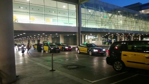 Taxi Queue at Airport