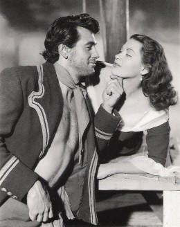 Rock Hudson and Yvonne De Carlo in Sea Devils (1953)