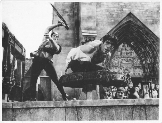 Anthony Quinn as The Hunchback of Notre Dame (1956)