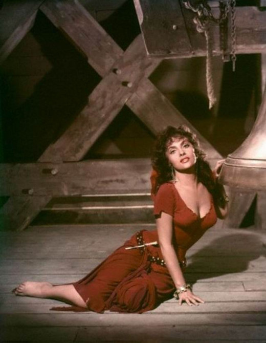 Gina Lollobrigida in The Hunchback of Notre Dame (1956)