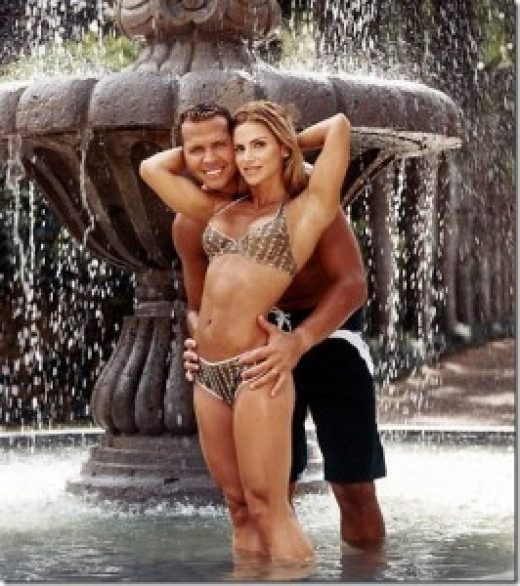 Alex Rodriguez shows us all what money can buy.