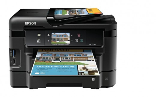 The Epson WF-3540 is a great well-rounded all-in-one printer.