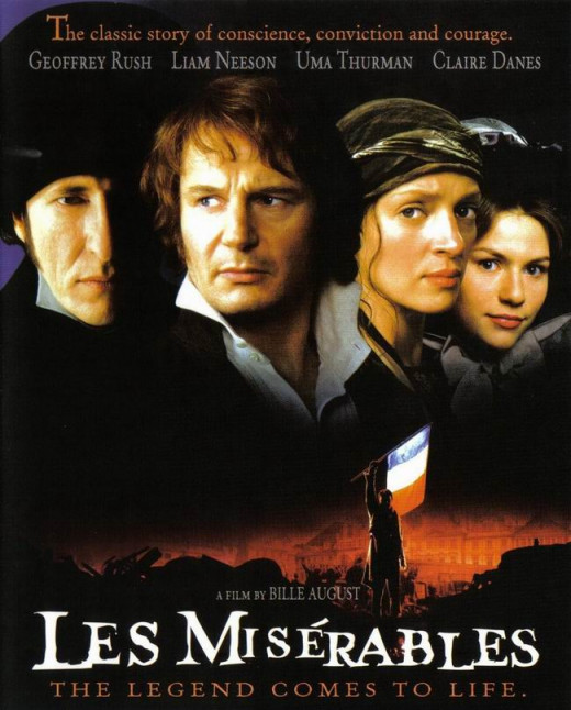 Les Miserables (1998) poster