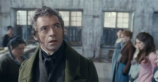Hugh Jackman in Les Miserables (2012)