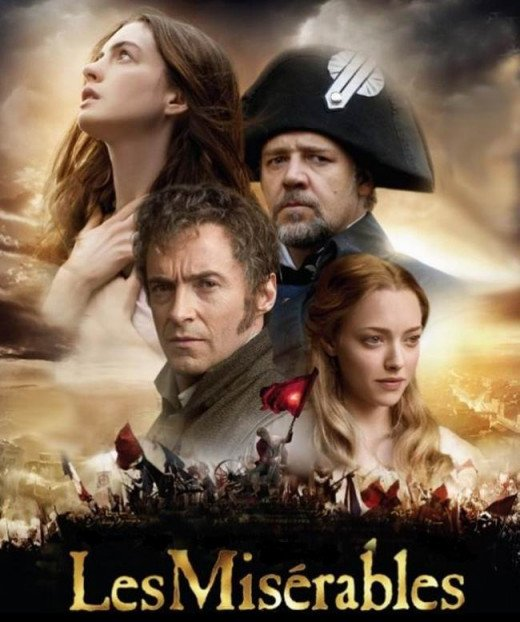 Les Miserables (2012) poster