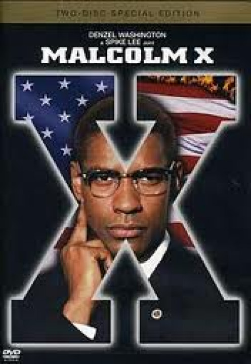 Denzel Washington portrays Malcolm X in this Spike Lee joint. Denzel has played in many roles depicting real life persons.