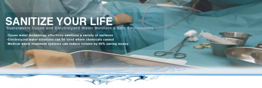 Sanitize your life naturally for medical facilities offered by Rovingreen out of Lake Geneva Wisconsin
