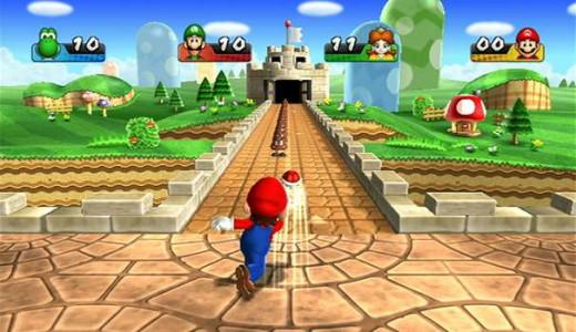 Mario Party gameplay