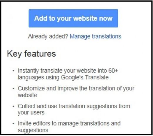 Adding a Language Translator to Your Blogger Blog