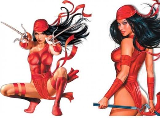 Classic Elektra Costume