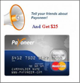 Payoneer refer a friend Program