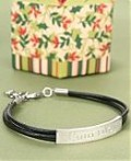Engraved Bracelet for him