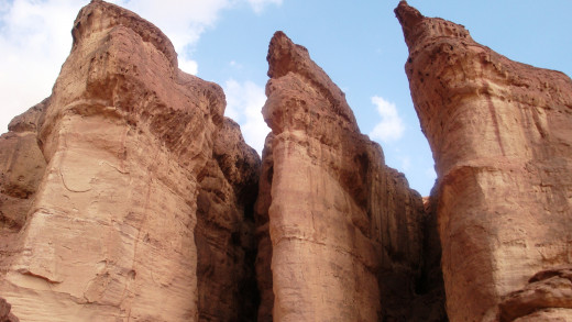 Solomon Pillars - Amazing Rock Formation Image is the property of Comfort Babatola -Copyright Protected