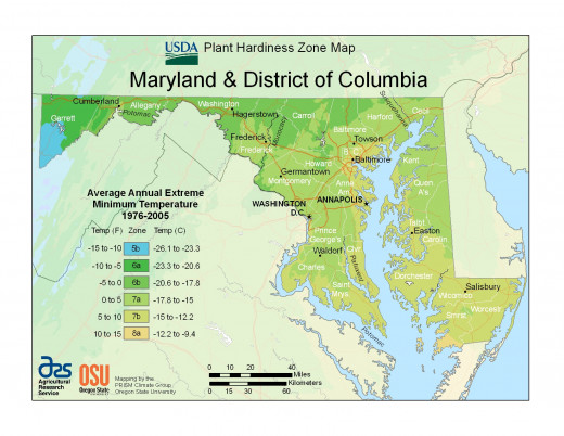 You can create a PHZM for every U.S. state as well as the District of Columbia and Puerto Rico at the USDA website.
