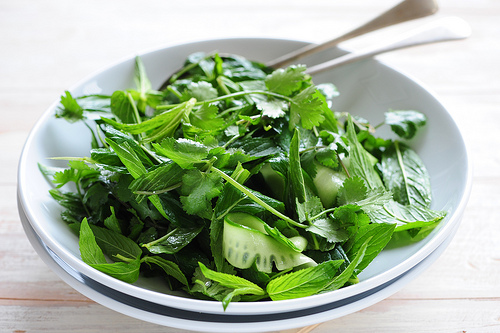 Try a green salad for St. Patrick's Day!