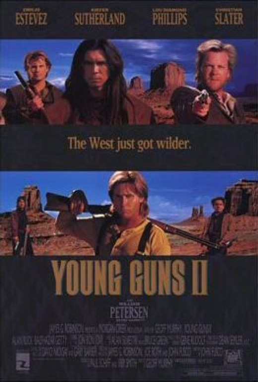 Young Guns II Poster