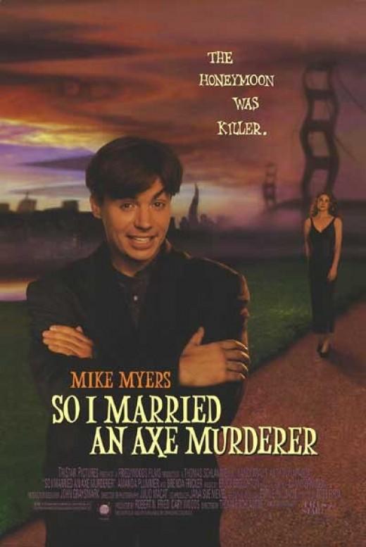 So I Married an Axe Murderer Poster