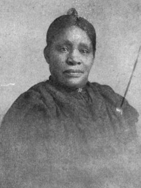 Matilda Dunbar, mother of the American poet Paul Laurence Dunbar. From The Life and Works of Paul Laurence Dunbar, published in 1907.