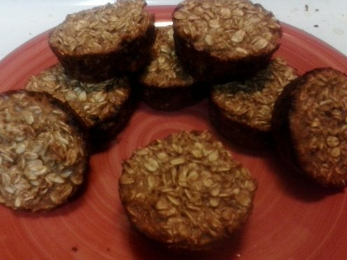 Brown Sugar Cinnamon Oatmeal Muffins
