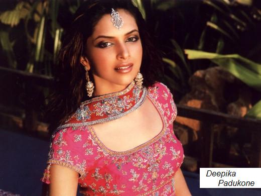 Indian actress and model Deepika Padukone