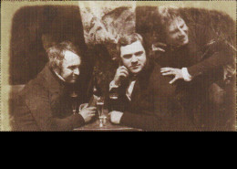 The earliest known photograph of men drinking beer. Edinburgh Ale, 1844.