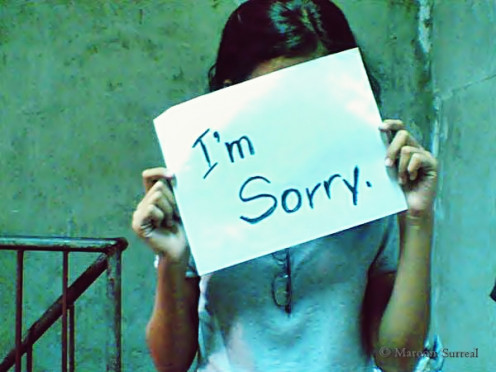 How to say I'm Sorry