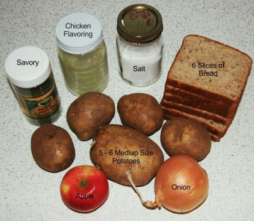 Image: Stuffing Ingredients