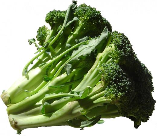 Dark green leafy vegetables - yummy!