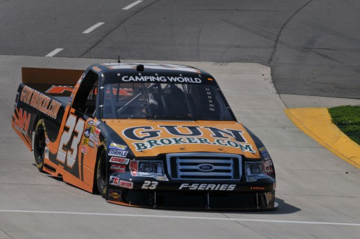 Gunbroker.com has been a part of the Camping World Truck series for a decade