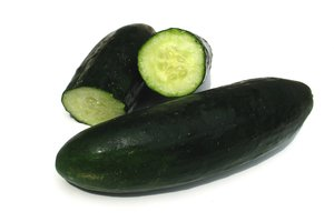 Cucumbers are low in carbs