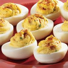Enjoy deviled eggs on a low carb diet