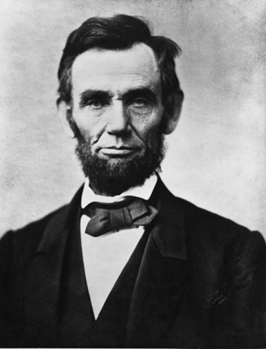 Honest Abe, at the forefront of trustworthiness.