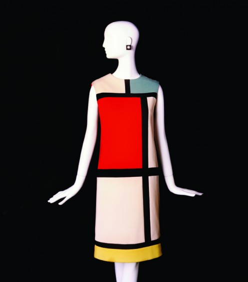 From YSL Fall/Winter 1965 Collection