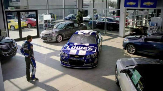 After the way this season has started I'll bet Jimmie Johnson still loves that new car smell