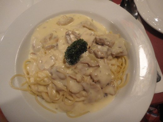 http://Spaghetti with Chicken Scallopini