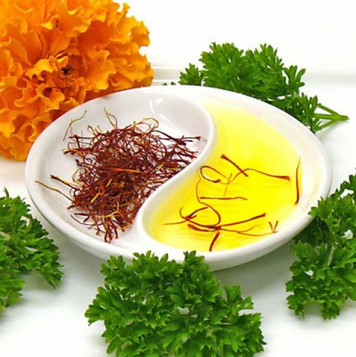 Saffron and Milk