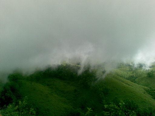 Fog capped hills of Vagamon