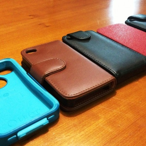 My iPhone 4s protective cases