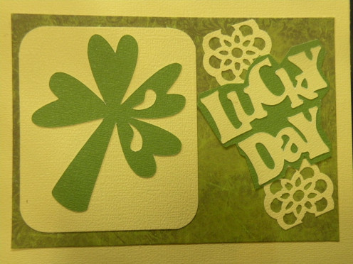 Lucky Day phrase adhered