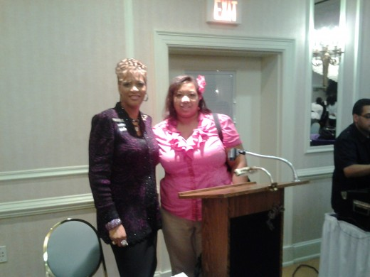 Orignal photo of me with National Sales Director Candy Lewis, in Carteret NJ
