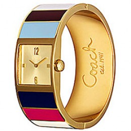 Coach Mercer Square Legacy Multicolor Watch