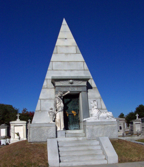 "Lakelawn Metairie is home to the most elaborate tombs in town- and was even listed in Forbes as one of ""the"" places to be buried!"