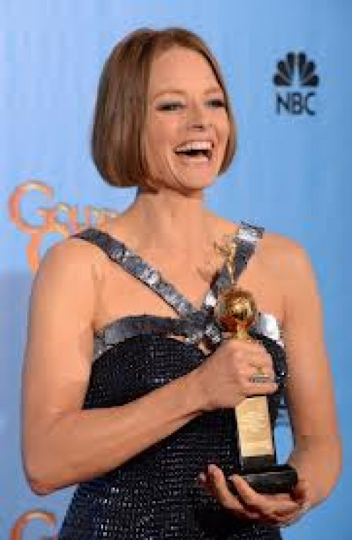 Jodie Foster has received many awards during her acting career.