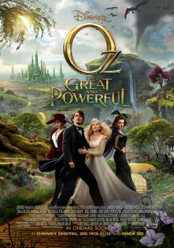 Oz the Great and Powerful: Greatly Inspired by Baum, Powerfully Influenced by Garland
