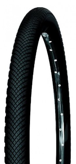 The Michelin Country Rock Slick MTB Tire. It's grooved profile offers exceptional wet weather performance