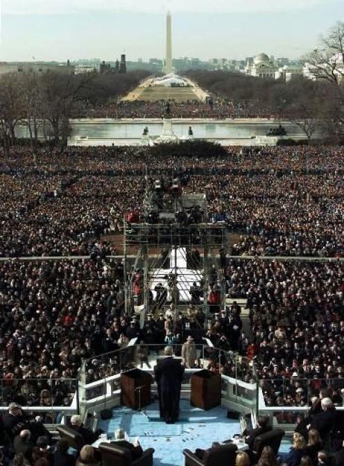 Obama Inauguration, 2009.