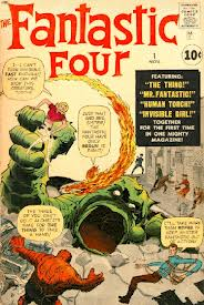 The 1st issue of Fantastic Four 1961