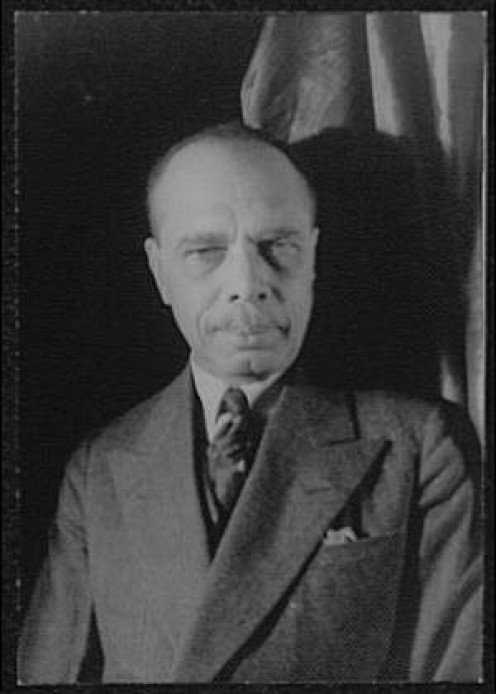 James Weldon Johnson photographed by Carl Van Vechten, Dec. 3, 1932.