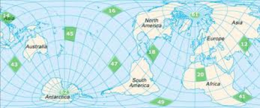 Sanderson's Map of the Twelve Vertices